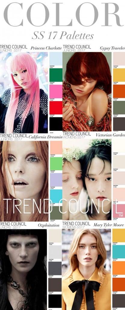Palete SS 17 Women Trend council